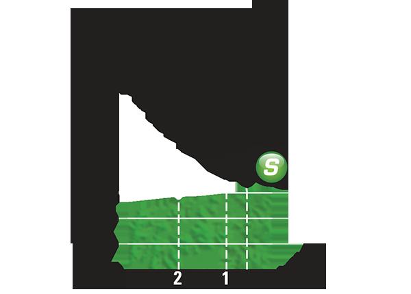 Промежуточный спринтерский финиш 17 этапа Тур де Франс 2015