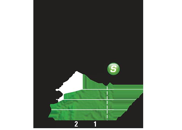 Промежуточный спринтерский финиш 18 этапа Тур де Франс 2015