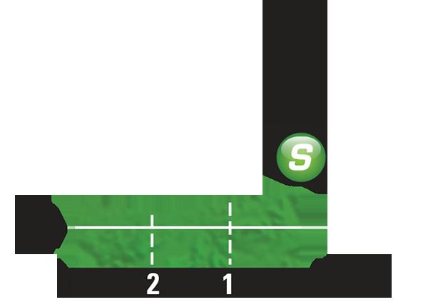 Промежуточный спринтерский финиш 4 этапа Тур де Франс 2015