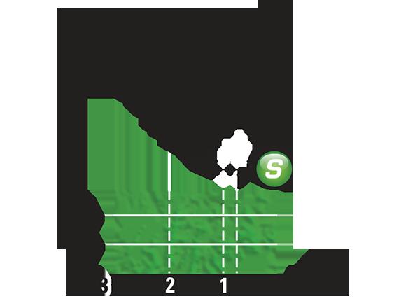 Промежуточный спринтерский финиш 5 этапа Тур де Франс 2015