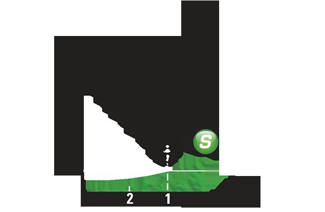Промежуточный спринтерский финиш 6 этапа Тур де Франс 2015