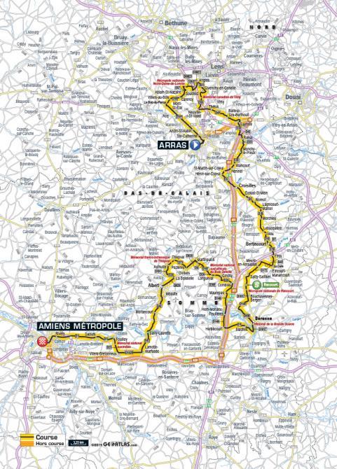 Маршрут 5 этапа Тур де Франс 2015