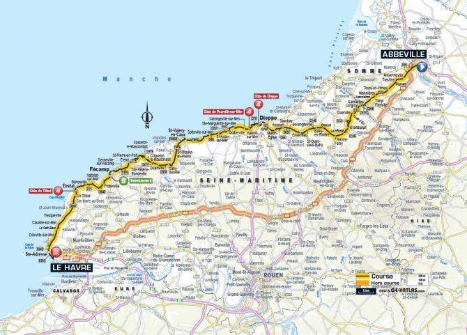 Маршрут 6 этапа Тур де Франс 2015