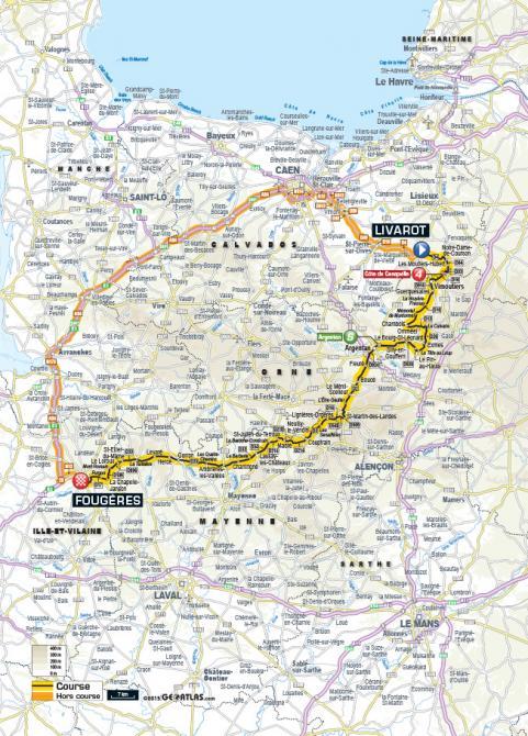 Маршрут 7 этапа Тур де Франс 2015