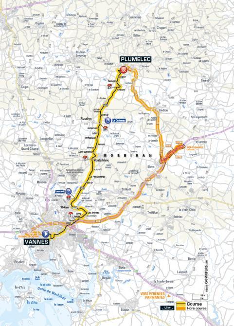 Маршрут 9 этапа Тур де Франс 2015