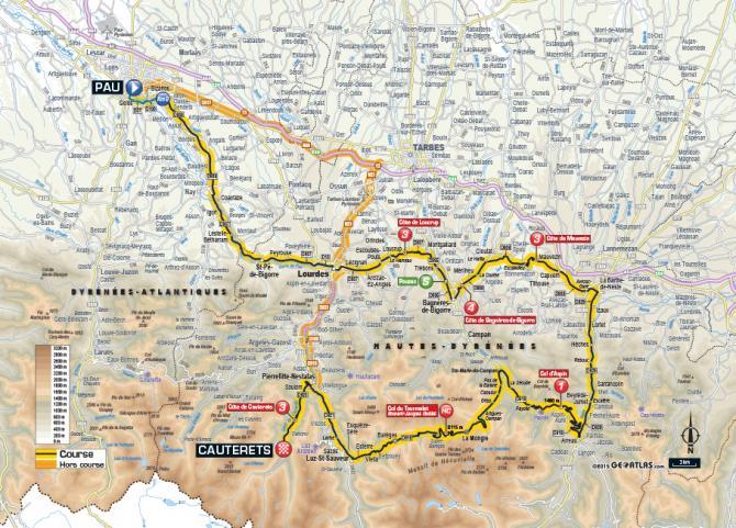 Маршрут 11 этапа Тур де Франс 2015
