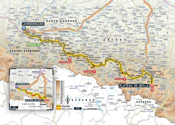 Маршрут 12 этапа Тур де Франс 2015