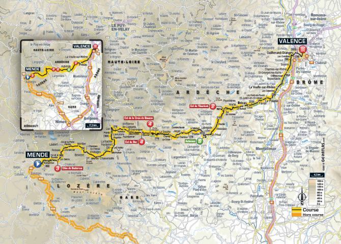 Маршрут 15 этапа Тур де Франс 2015