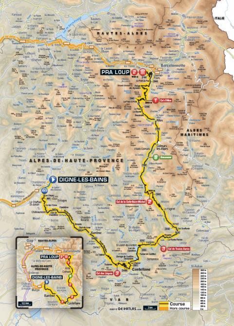Маршрут 17 этапа Тур де Франс 2015