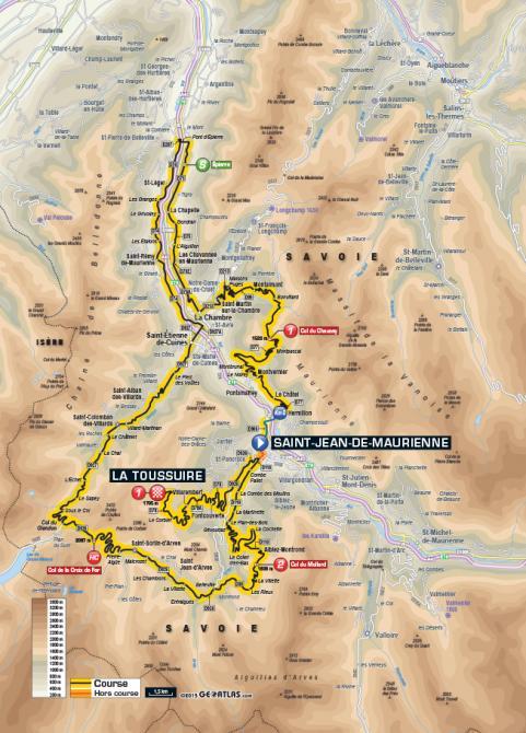 Маршрут 19 этапа Тур де Франс 2015
