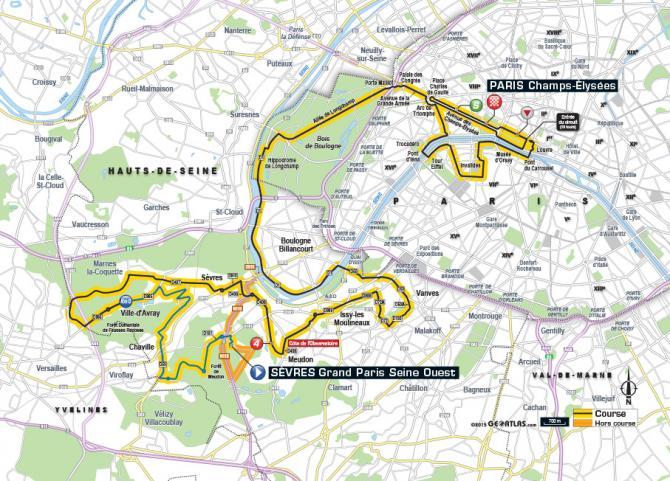 Маршрут 21 этапа Тур де Франс 2015