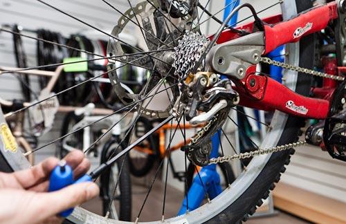 уход за гонрным велосипедом