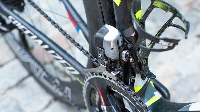 Peter Sagan's Specialized S-Works Tarmac 3