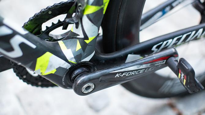 Peter Sagan's Specialized S-Works Tarmac 4