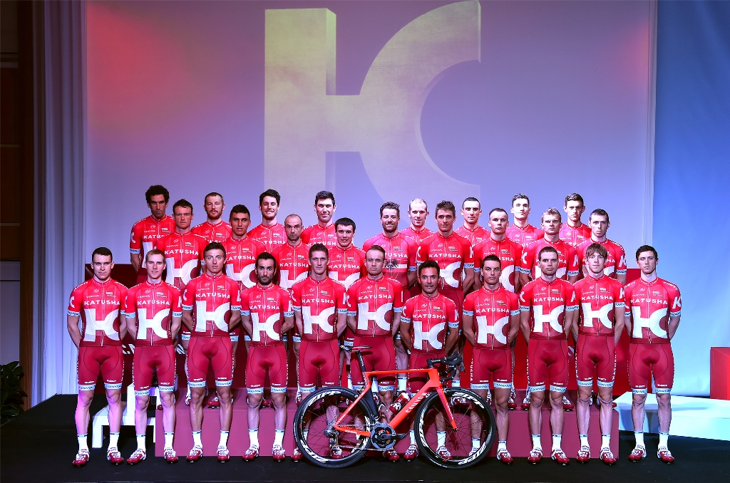 Team Katusha 2016