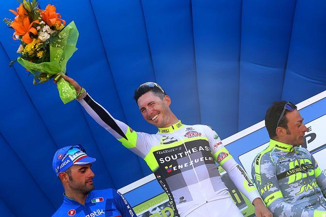 Manuel Belletti (Southeast-Venezuela) выиграл этап в день открытия Copi e Bartali (Tim de Waele/TDWSport.com)