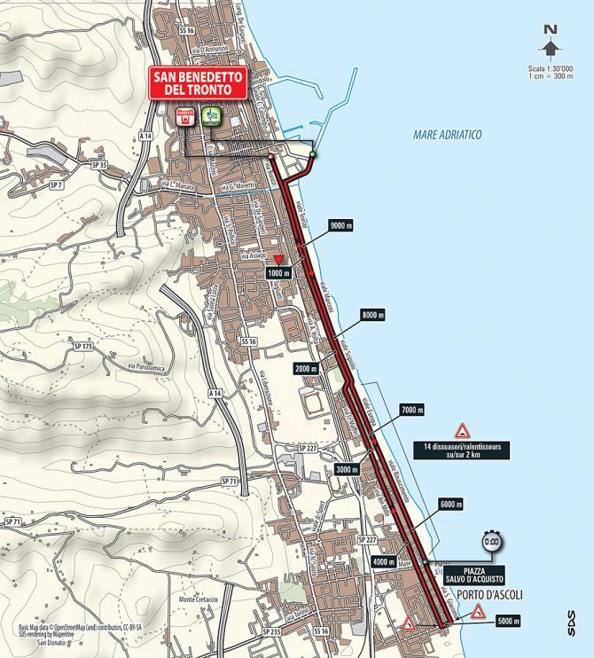 Маршрут 7 этапа Тиррено-Адриатико 2016