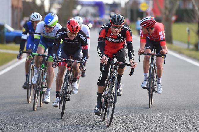 BMC's Lois Vliegen ближе к концу гонки. (Tim де Waele / TDW Sport.com)