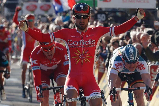 Nacer Bouhanni (Cofidis) выиграл 4 этап на Париж - Ницца (Getty Images Sport)