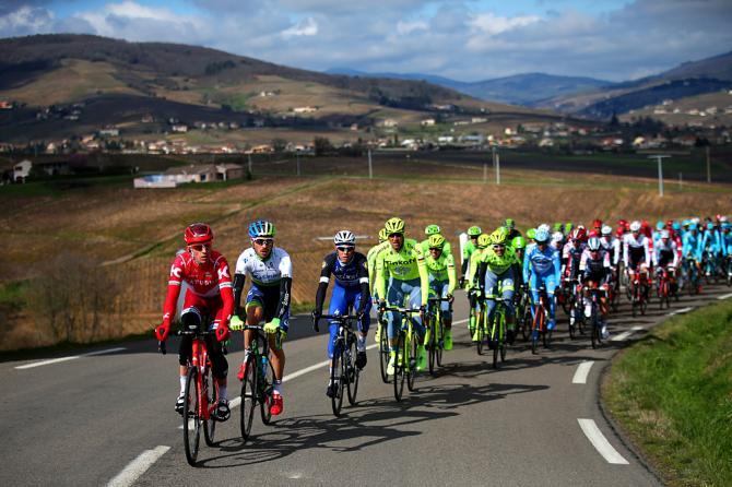 4 этап Париж - Ницца, снег остался позади (Getty Images Sport)
