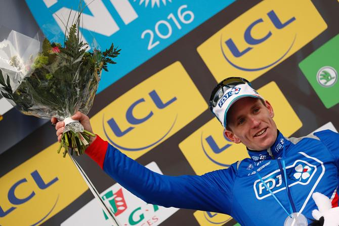 Arnaud Démare (FDJ) won stage 1 at Paris-Nice (Getty Images Sport)