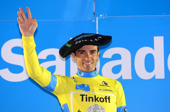 Альберто Контадор - Победитель Тура страны басков 2016