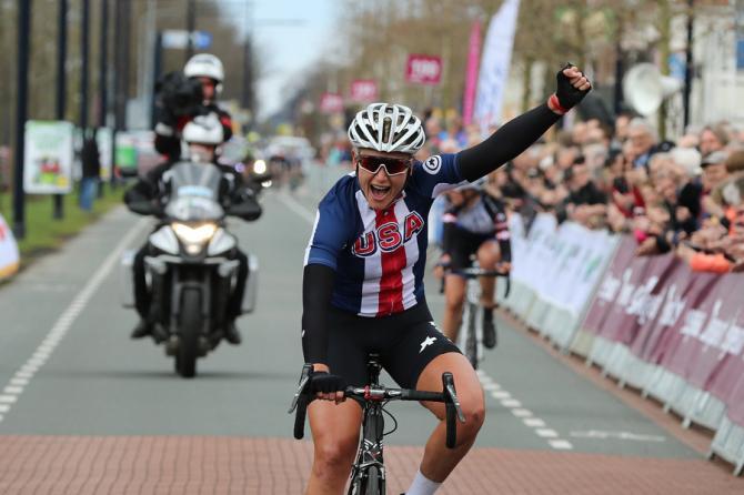 Allie Dragoo (USA) выиграла 3-й этап Energiewacht Tour (Bert Geerts/dcp-bertgeerts@xs4all.nl)