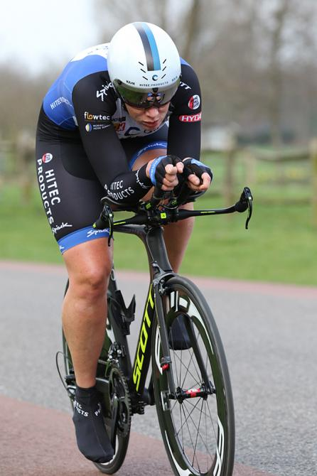 Kirsten Wild (Hitec Products) победительница 1-го этапа Тура Катара (фото: dcp-bertgeerts@xs4all.nl)