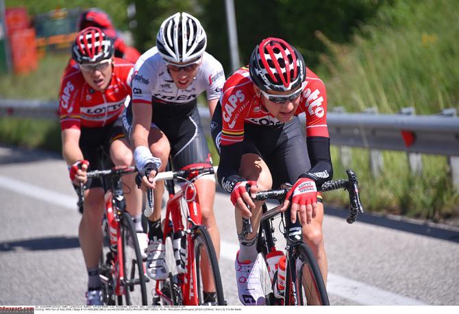 Три преследователя Велленса, Лигтарт и Дидье (фото: Tim de Waele/TDWSport.com)