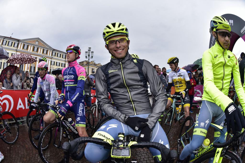 В последний день соревнований с погодой не повезло. Джиро д'Италия 2016 (Photo by Bettini Photo)