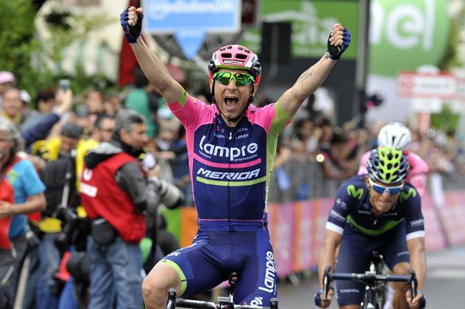 Diego Ulissi выиграл 11-й этап Giro d'Italia(фото: Bettini Photo)