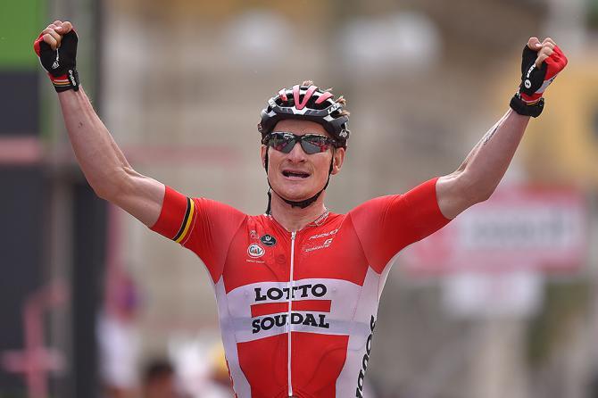 Andre Greipel (Lotto Soudal) взял пятый этап Джиро д'Италия (фото: Tim de Waele/TDWSport.com)
