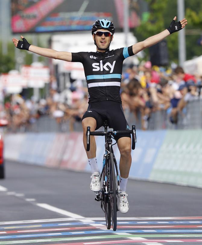 Mikel Nieve (Team Sky) победитель 13-го этапа(фото: Bettini Photo)
