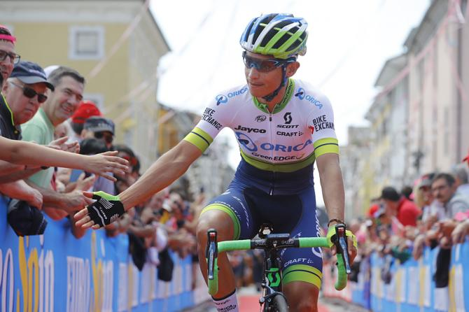 Esteban Chaves (Orica-GreenEdge) (фото: Getty Images Sport)