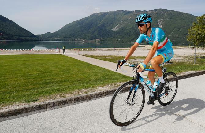Vicenzo Nibali (Astana) (фото: Getty Images Sport)