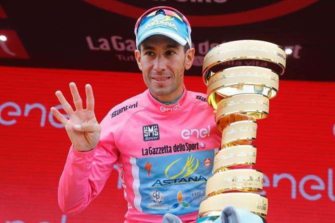 Vincenzo Nibali (Astana) стал победителем Giro d'Italia 2016 (фото: Getty Images Sport)