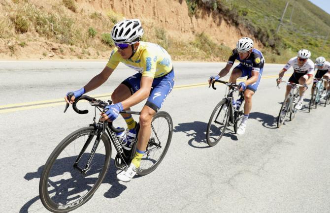 Лидер гонки Julian Alaphilippe (Etixx Quickstep)(фото: Getty Images Sport)