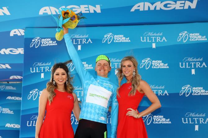 Том Скуджинс (Кэннондэйл) был самым агрессивным гонщиком этапа (фото: Getty Images Sport)