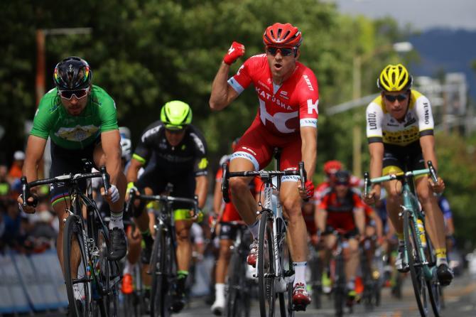 Александр Кристофф (Катюша) выигрывает 7-й этап (фото: Getty Images Sport)