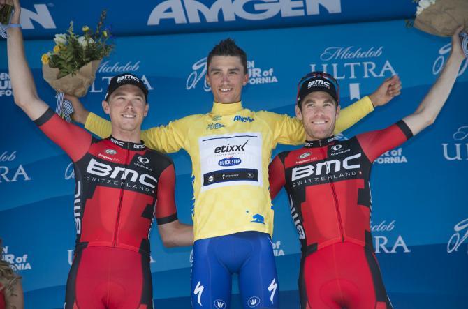 Джулиан Алэфилипп (Etixx Quickstep), Рохан Деннис и Брент Буквалтер (фото: Tim de Waele/TDWSport.com)
