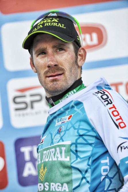 Новый лидер гонки José Gonçalves (Caja Rural) (фото: Tour of Turkey/Brian Hodes)