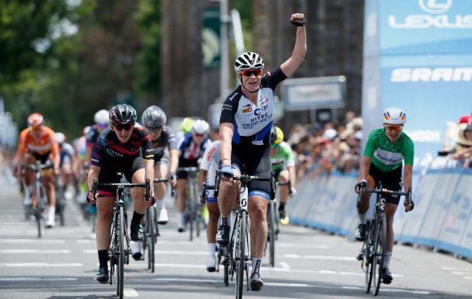 Kirsten Wild (Hitec Products) взяла победу на четвёртом этапе (фото: Getty Images Sport)