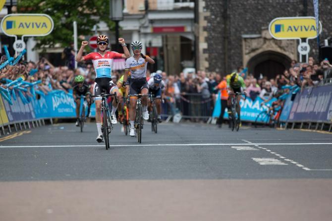 Christine Majerus (Boels Dolmans) победила на этапе (фото: Sean Robinson/Velofocus)