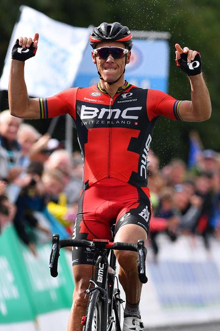 Philippe Gilbert (BMC) wins Belgium road race championships (фото: Tim de Waele/TDWSport.com)