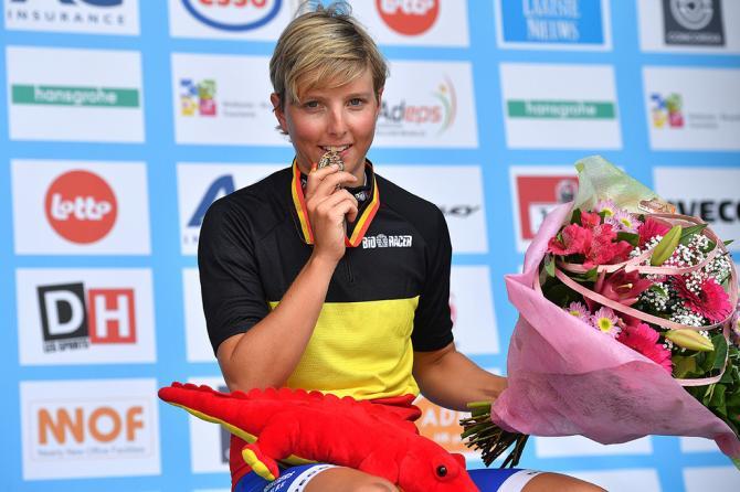 2016 Бельгийская чемпионка Kaat Hannes (Lensworld-Zannata) (фото: Tim de Waele/TDWSport.com)