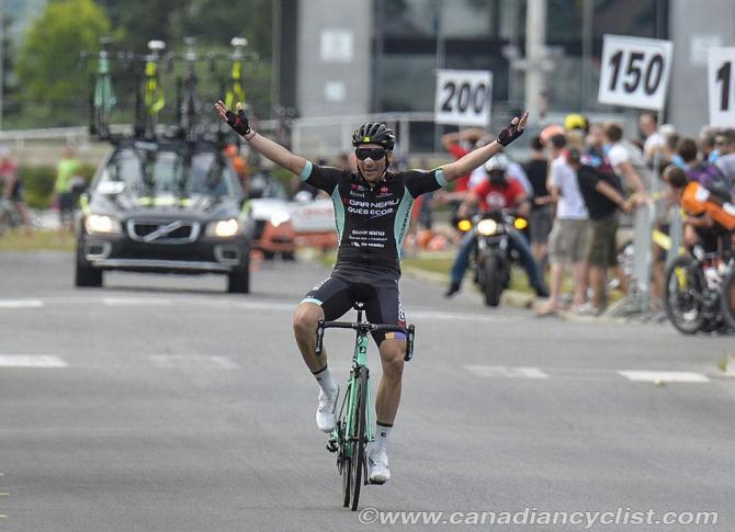 Bruno Langlois (Garneau Quebecor) наконец получает Национальный титул чемпиона(фото: Robert Jones)