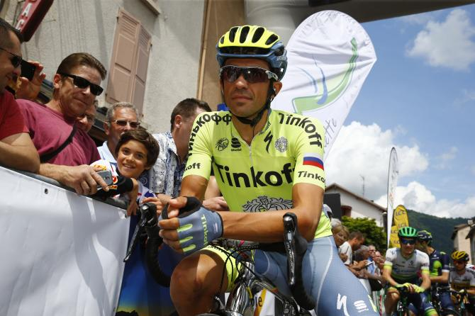 Альберто Контадор (Tinkoff) (фото: Bettini Photo)