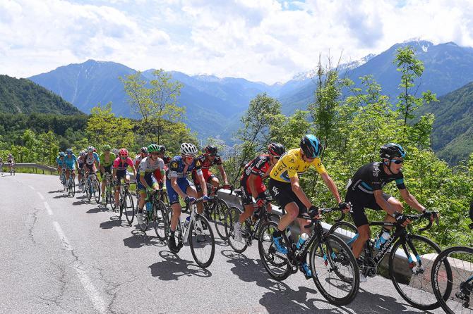 Крис Фрум (Sky) на шестом этапе Критериума Дофине 2016 (фото: Tim de Waele/TDWSport.com)