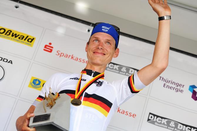 Тони Мартин (Etixx-QuickStep) немецкий чемпион гонок на время. (фото: Mario Stiehl)
