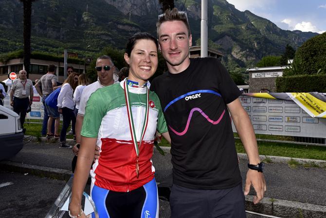 Elena Cecchini и Elia Viviani (фото: Bettini Photo)